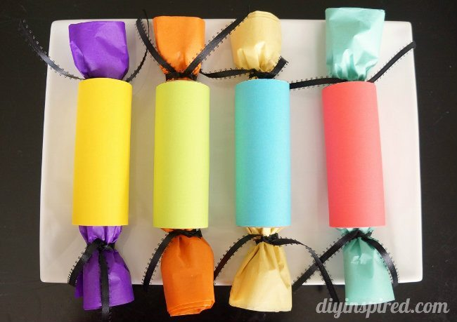 Toilet Paper Roll Gift Wrapping