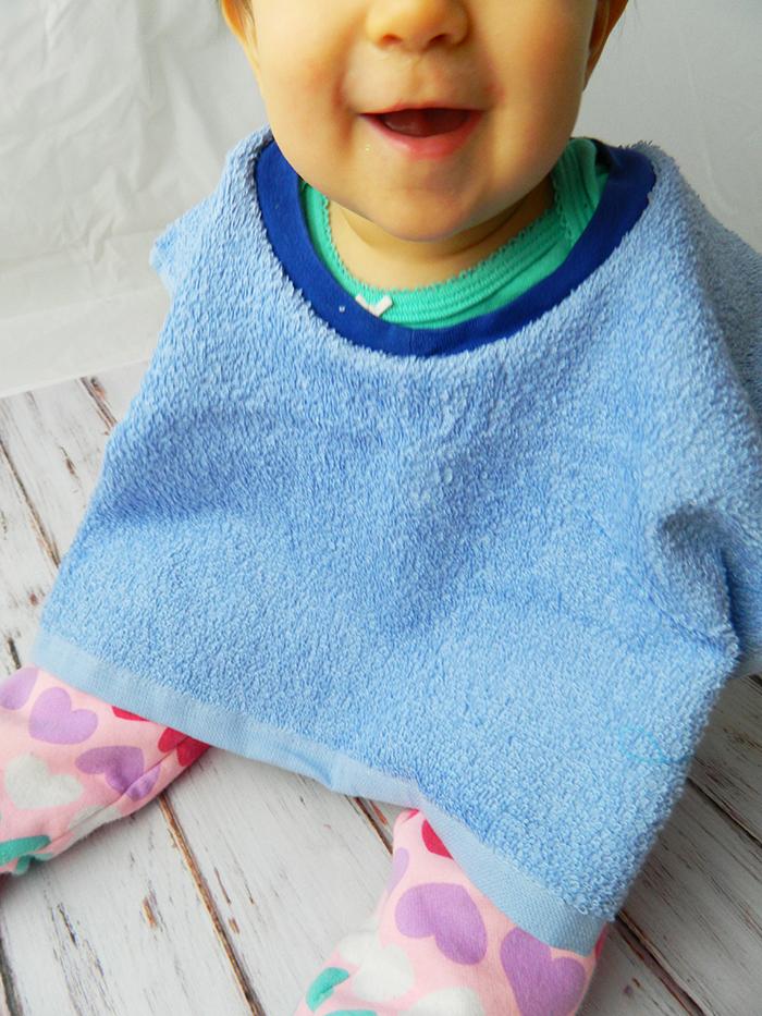 Towel Baby Bib