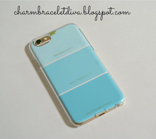 paint chip iphone case