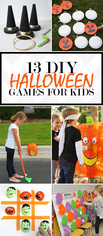 13 Fun Diy Halloween Games For Kids