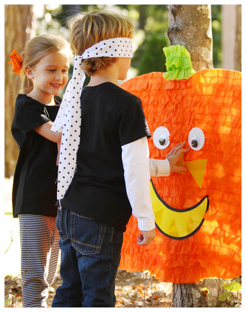 Pin the Nose on the Pumpkin