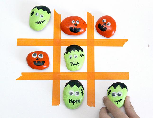 Spooky Tic Tac Toe Game