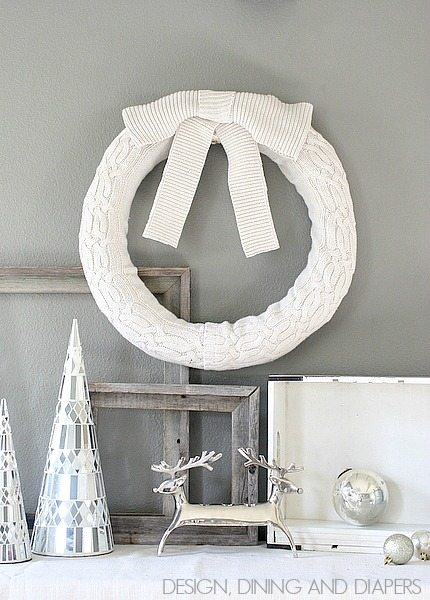 Sweater Christmas Wreath