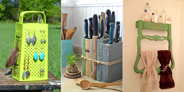 20 Creative Ways To Repurpose Old Stuff