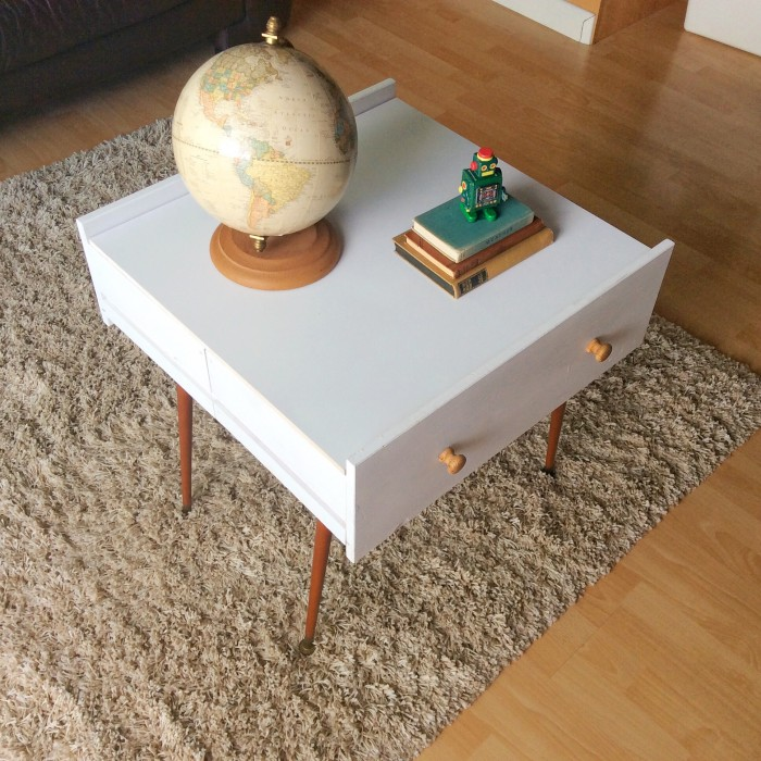 Coffee Table from Old Drawers