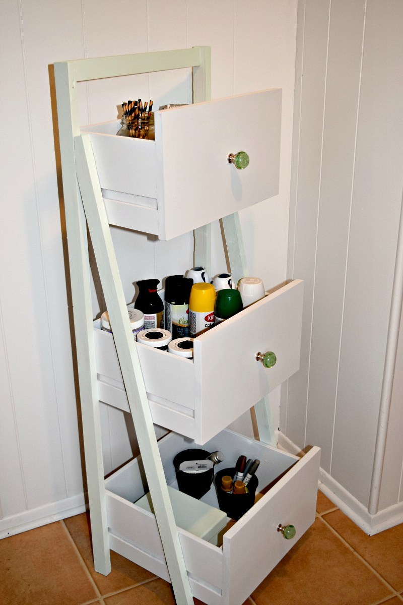 Drawer Ladder Shelf Organizer