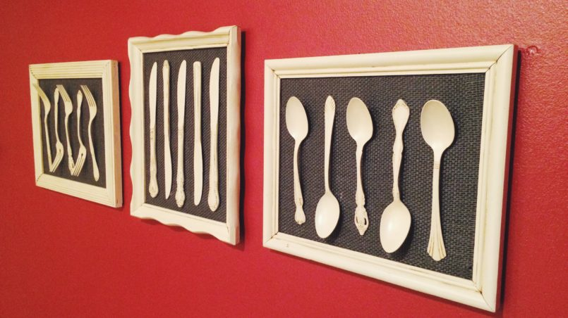 Silverware Kitchen Art