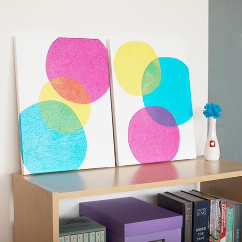 Tissue Paper Bubbles
