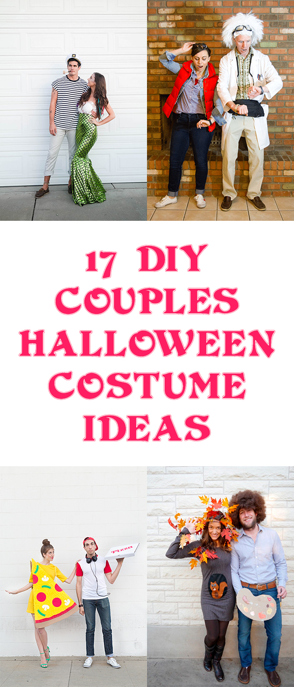 17 DIY Couples Halloween Costume Ideas