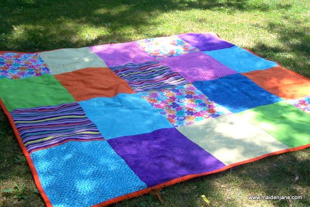 Big and Bold Beach Blanket
