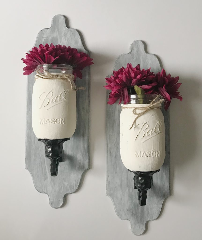 Mason Jar Farmhouse Wall Decor