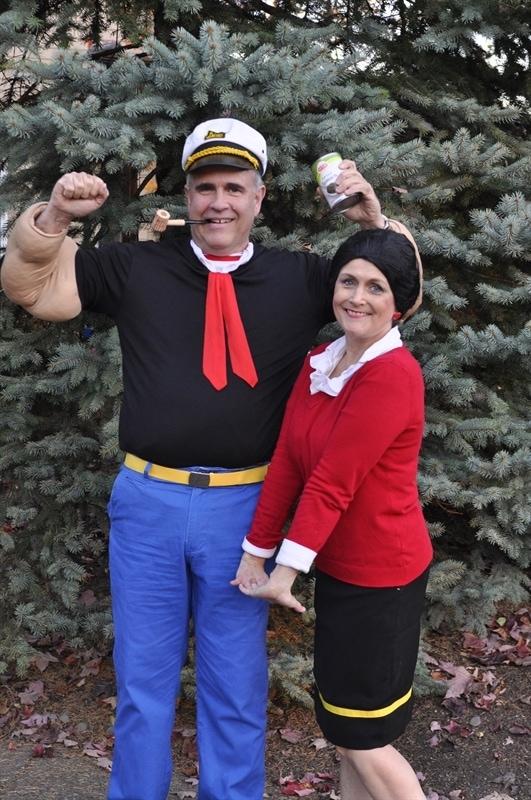 Popeye & Olive Oyl