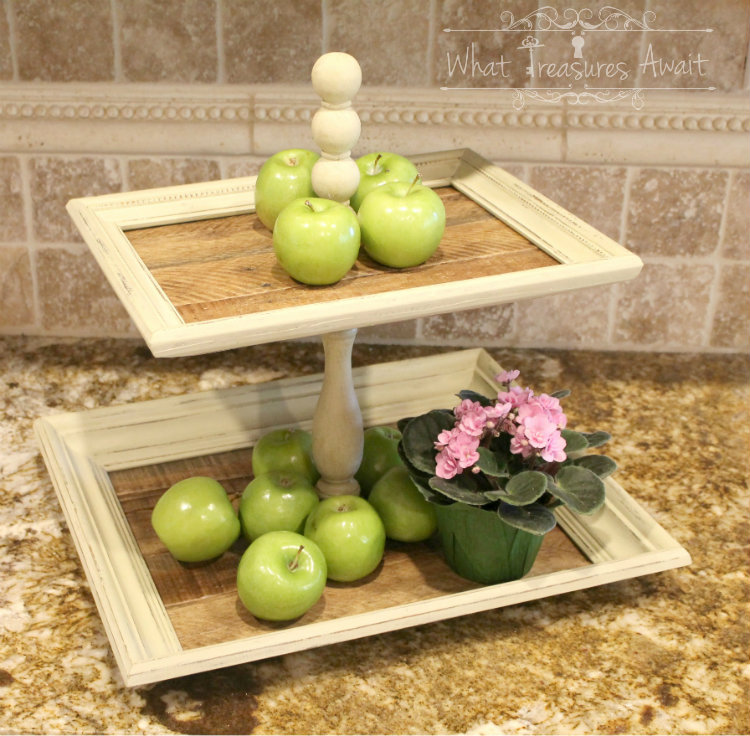 Tiered Farmhouse Tray