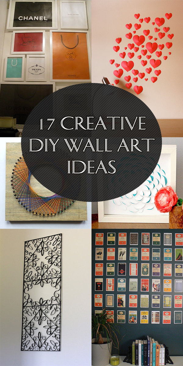 17 Creative DIY Wall Art Ideas That Will Transform Your Space