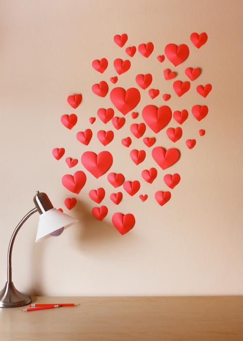Puffy Heart Wall Art