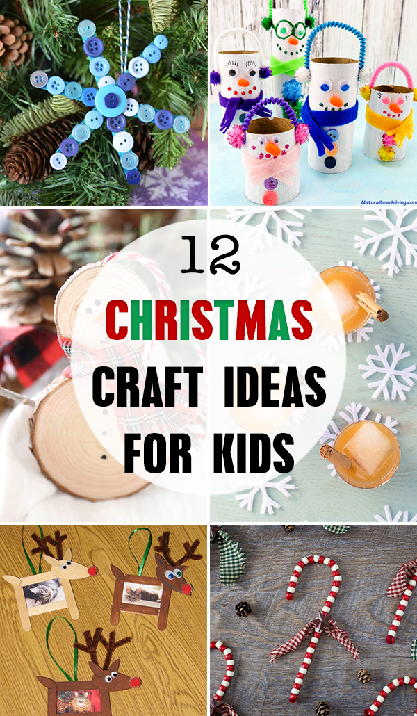 12 Christmas Craft Ideas for Kids