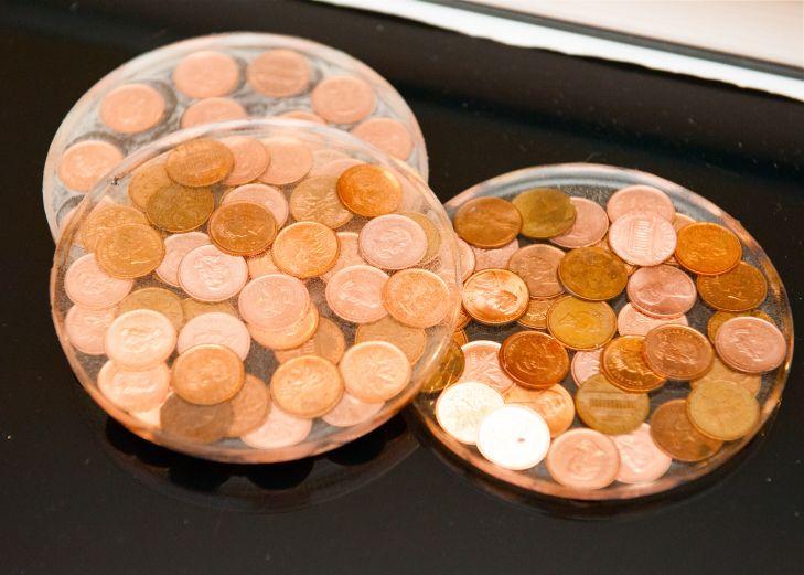 Penny Coasters
