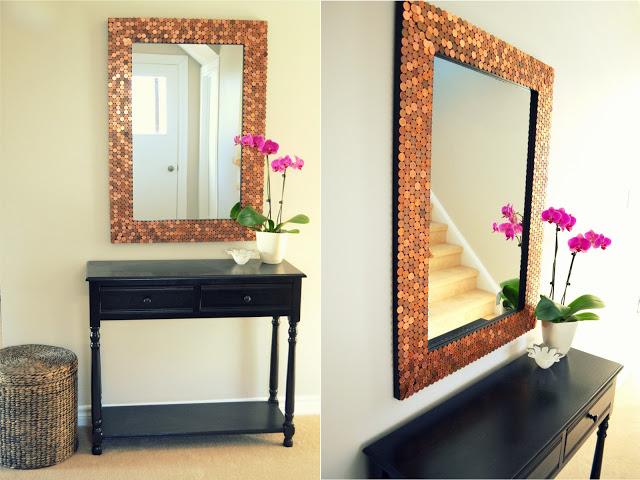 Penny Mirror Frame