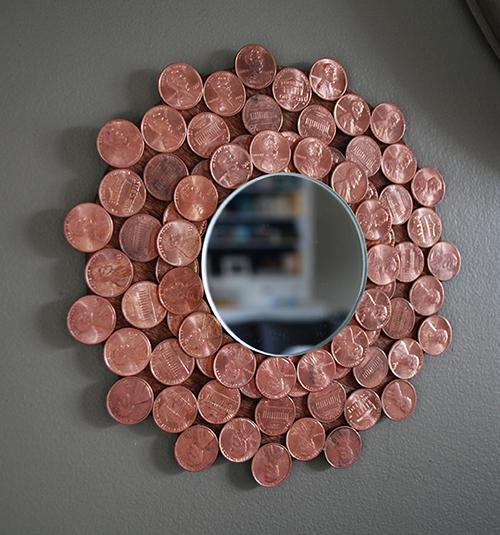 Penny Starburst Mirror