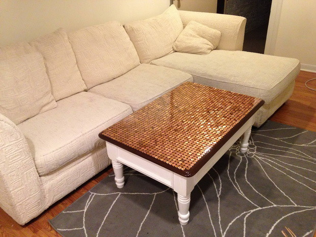Penny Top Coffee Table