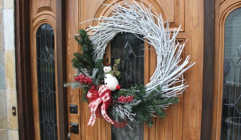 Christmas Twig Wreath