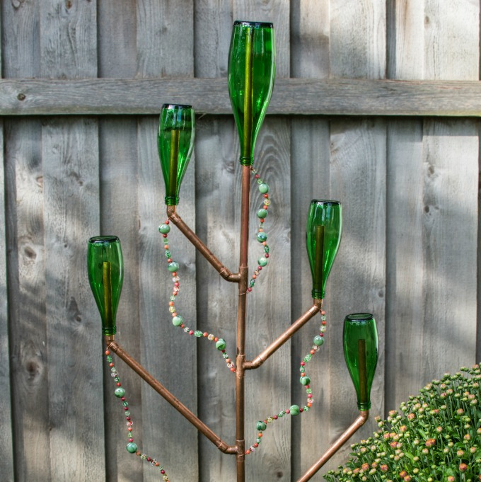 Bottle Tree Sculpture
