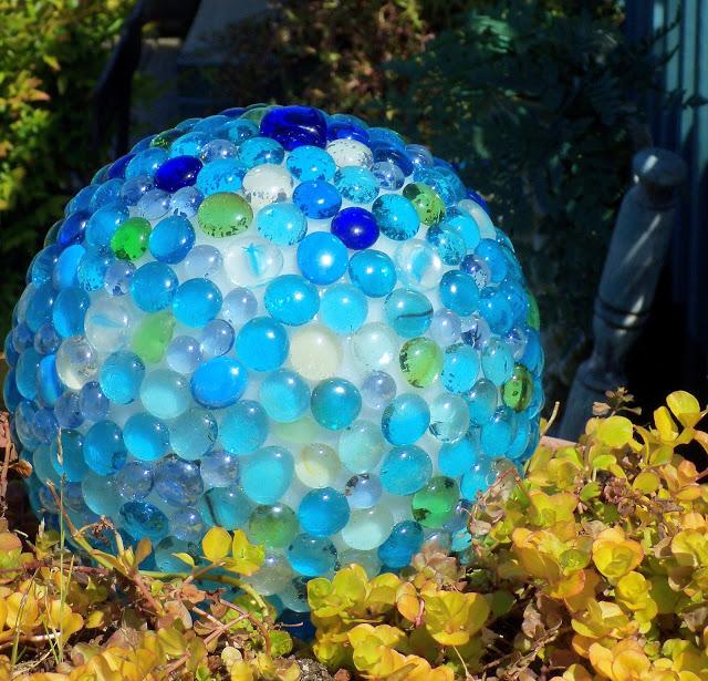 Glass Garden Balls