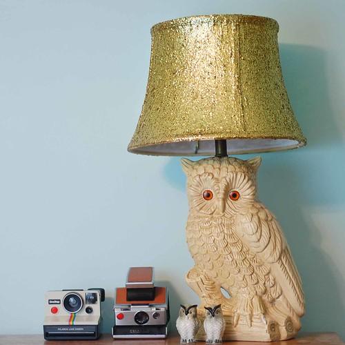 Glitter Lamp Shade