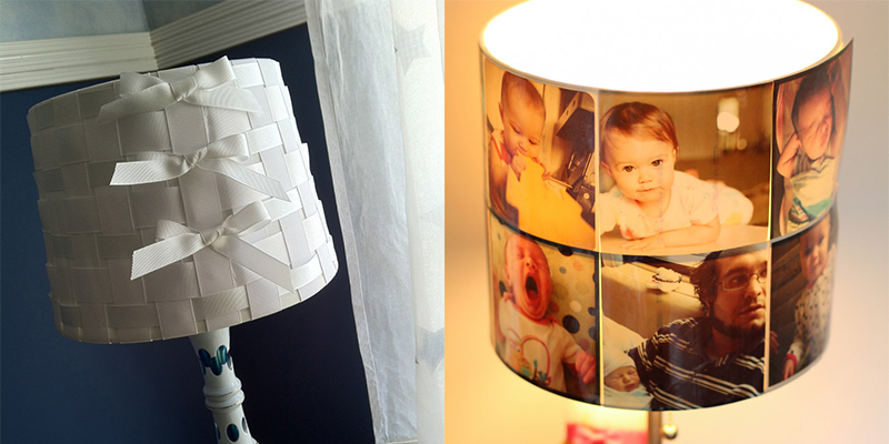 Lampshade Makeover Ideas