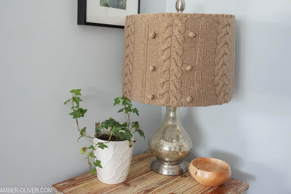 Sweater Lamp Shade