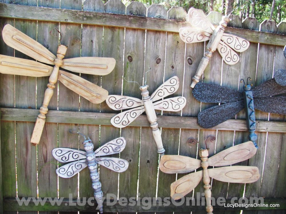 Table Leg Dragonflies