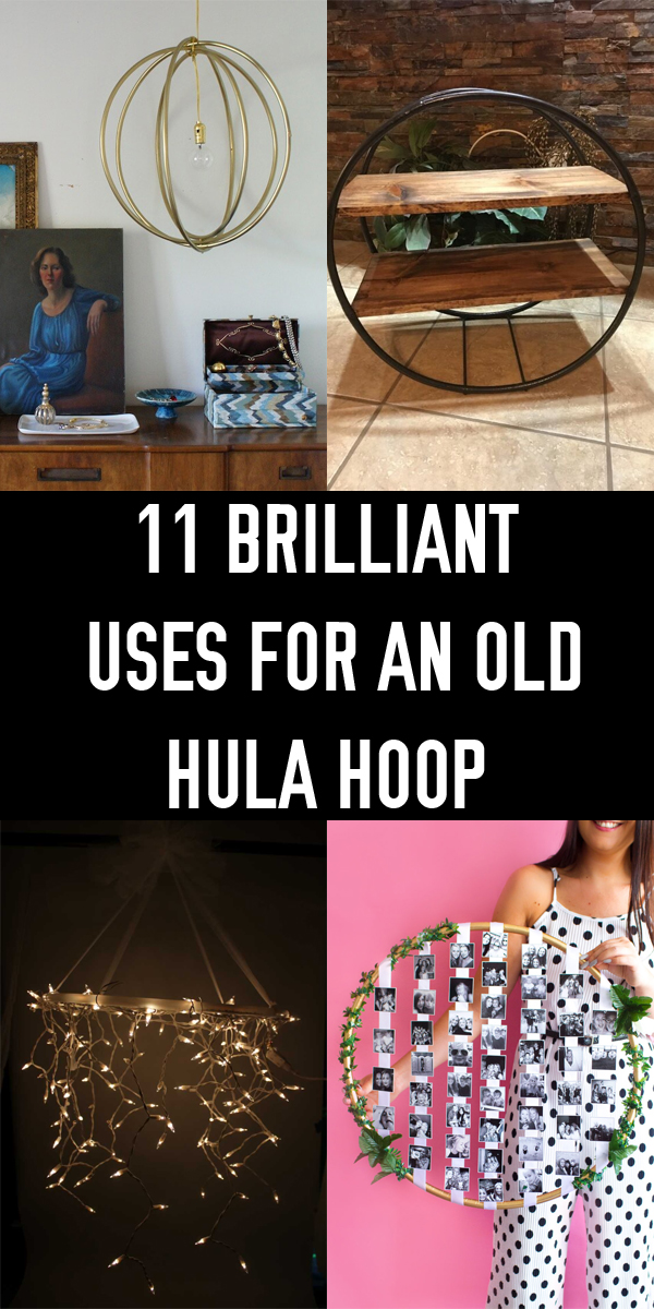 11 Brilliant Uses for an Old Hula Hoop