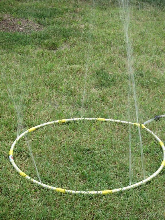 Hula Hoop Sprinkler
