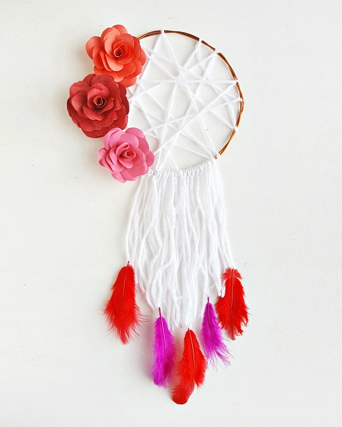 Floral DIY Dreamcatcher