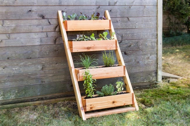 Planter Box Ladder