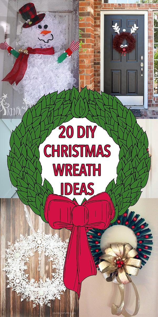 20 DIY Christmas Wreath Ideas